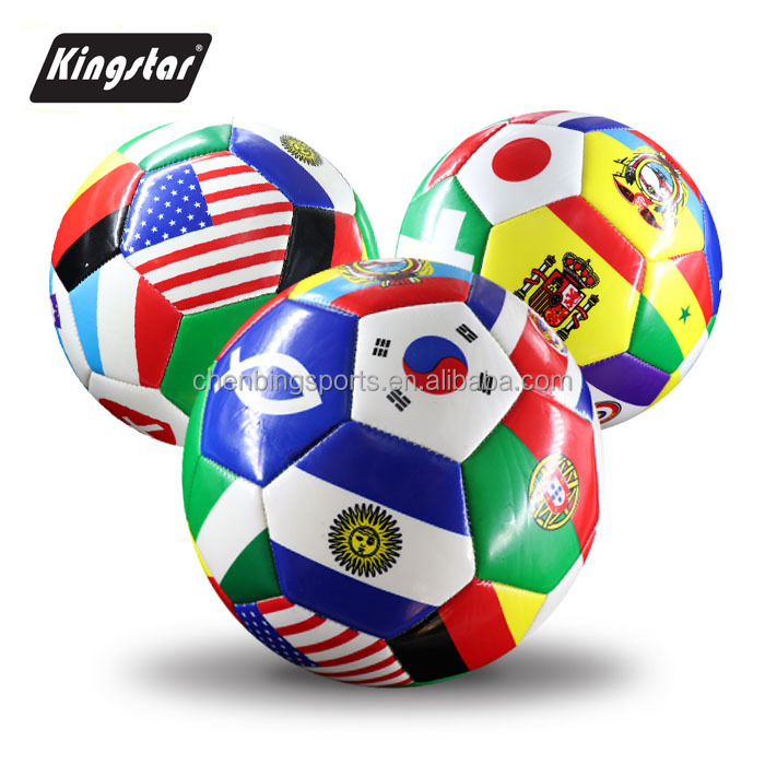 world cup flags soccer ball