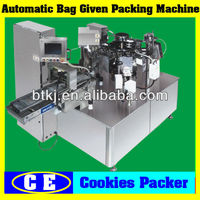 Stainless Continuous Bag/Sachet Supplying Auto Pack Machine for Sale,Automatic Digital PLC Touch Screen Grain Bag Pack Machine