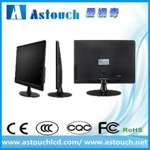 POS factory 21.5'' 22'' 21.5 inch led pc monitor with vga/dvi input with CE certificate
