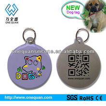 2013 NEW arrive!!dog tag, QR Code dog tag for find your pet