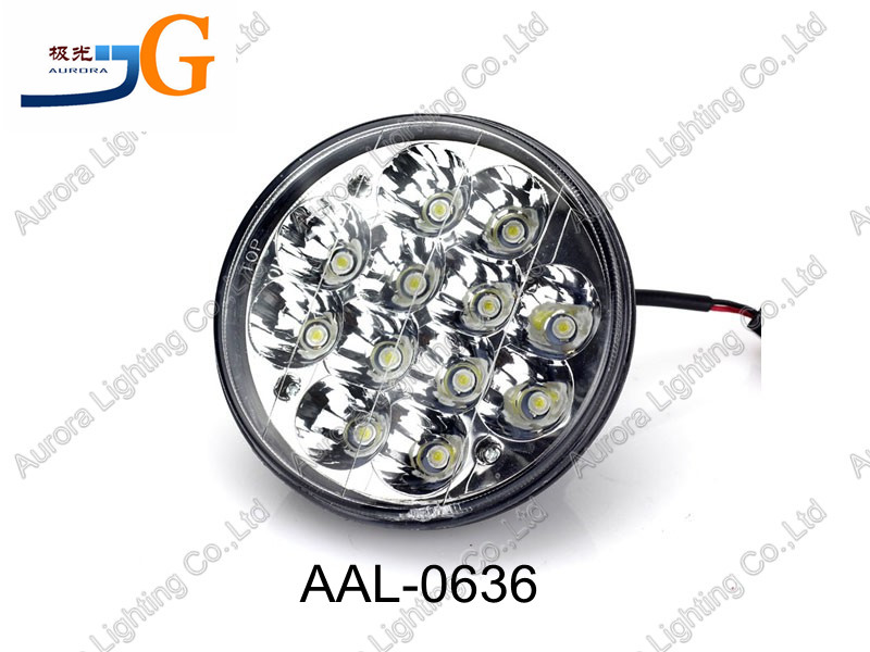 "5.5"" 36W flush mount round front light jeep front headlight AAL-0636"