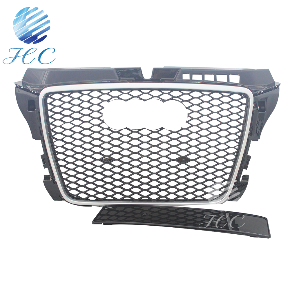 auto parts frp grille and grille front for audi A3 RS3
