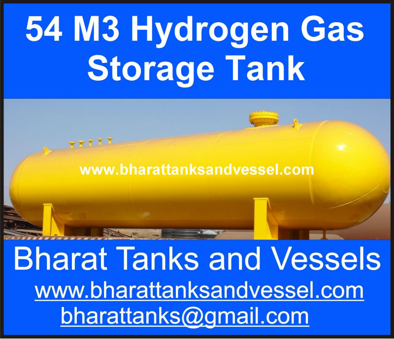 """54 M3 Hydrogen Gas Storage Tanks"""