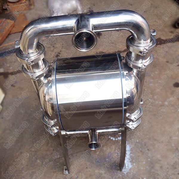 QBW new type stainless steel sanitary diaphragm pump