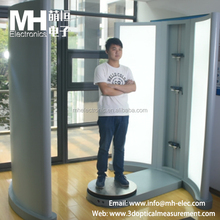 High Resolution Full Body 3D Scanner