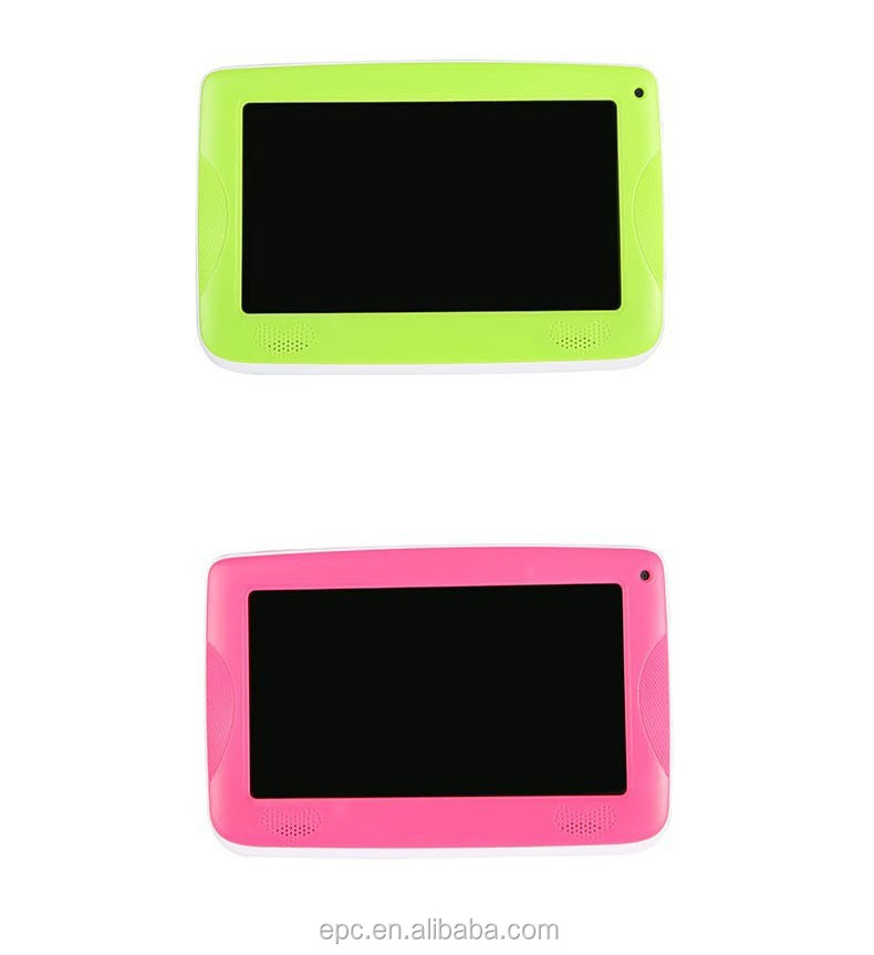 2017 newsest lastest dropship 7 inch kids tablet silicone case with stander
