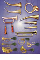 musical instruments,brass horn