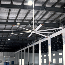 Super size HVLS 24FT silent suntronix industrial ceiling explosion proof axial fan