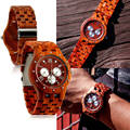 New fashion wood watch with certificates