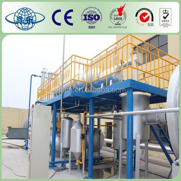 Environmental protection tyre pyrolysis equipment