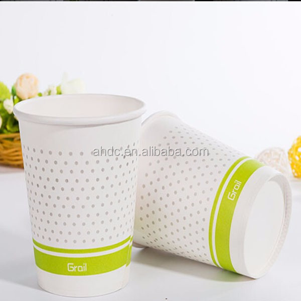 2016 Hot sales disposable coffee/tea drink cup promotion cup