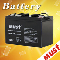 factory directly ups battery 12v 100ah lead acid agm mini 12v rechargeable battery