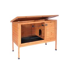 New Style Wooden Custom Rabbit Hutch