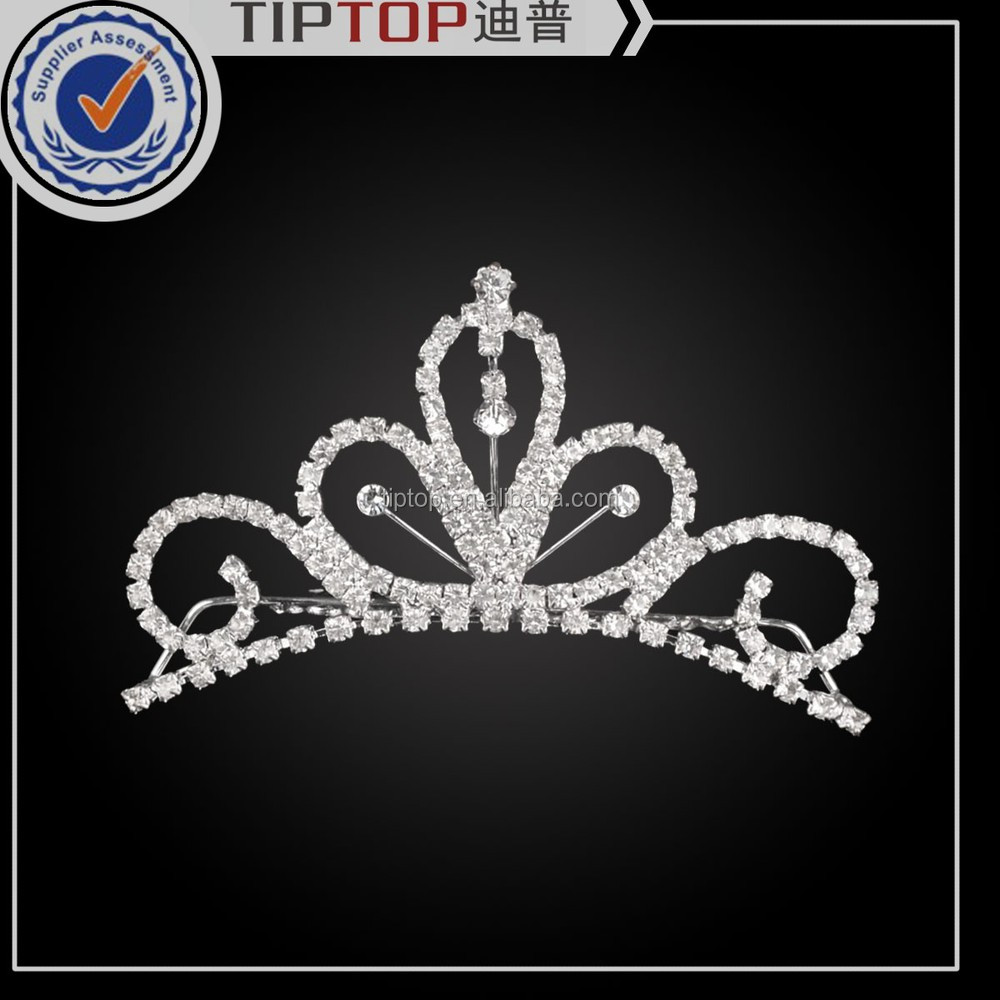 hot selling wholesale beauty fashion princess crown for girls