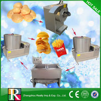 Best selling most popular in China 50kg/h fry potato chip machine