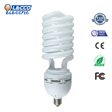 Factory Directly Sell Full spiral 55W 110-130v/220-240v energy saving lamps for home/circuit/Office lamp