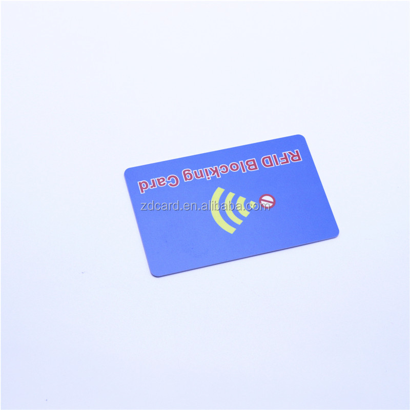 Rfid Blocking Shield Guard Card Identity Theft Protection
