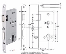 European Standard EN179 Mortise Panic Lock escape function lock