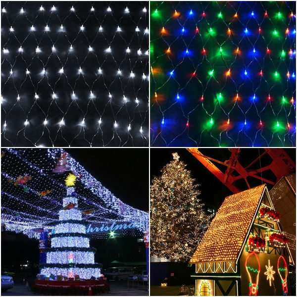 Solar Power Christmas Lights