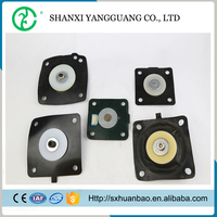 Customized fabric reinforced rubber asco diaphragm of pulse valve