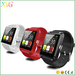 "Portable 1.5""TFT LCD screen 2016 cheap smart watch U8 bluetooth android phone"