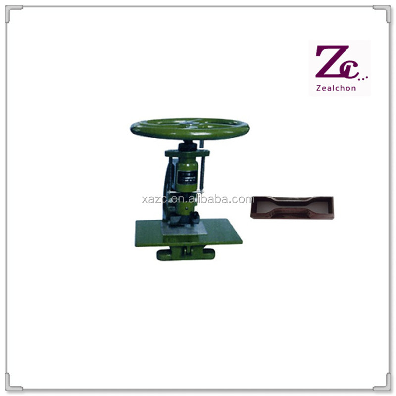 Manual Plastic Rubber Dumbbell Sample Cutter