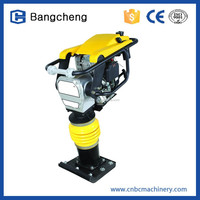 Professional Vibration Gasoline type cheap price earth tamping rammer for INDIA/AFRICA