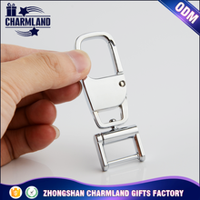 Custom Logo Stainless Steel Keychain Keyring Wholesale Fashion Metal Key Chain manufacturers in china