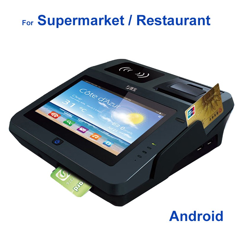 Nfc Terminal Pos with QR code payment and thermal printer