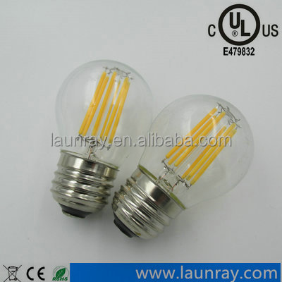 E27 E14 Base G45 G50 2W 4W 6W Led Filament Bulb 20w 40w Tungsten lamp replacement