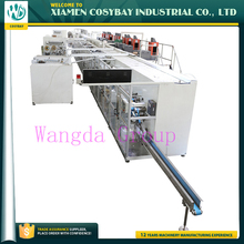 Semi servo diaper production line automatic machine for manufacturing small baby diaper