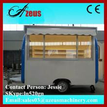Best selling hot dog food cart / ice cream vans for sale on the Alibaba