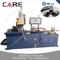 High accurancy automatic cnc pipe cutting machine with different angle cutting, 45 degree pipe band saw cutting machine