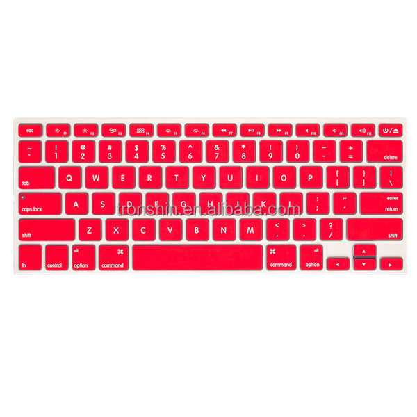 Ultrathin 0.30mm Silicone Keyboard Spill Guards for 13'' laptops