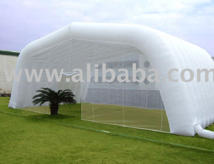 Airoof inflatable tent