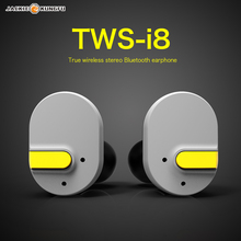 Mini TWS i8 Twins Wireless Bluetooth V4.1 Stereo Headset Lipstick-Sized In-Ear Earphones Earbuds for iPhone Samsung IPad Smart