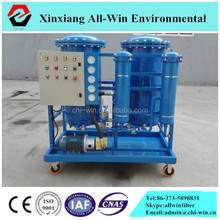coalesencing separation filter elements installed demulsifying oil purifier machine