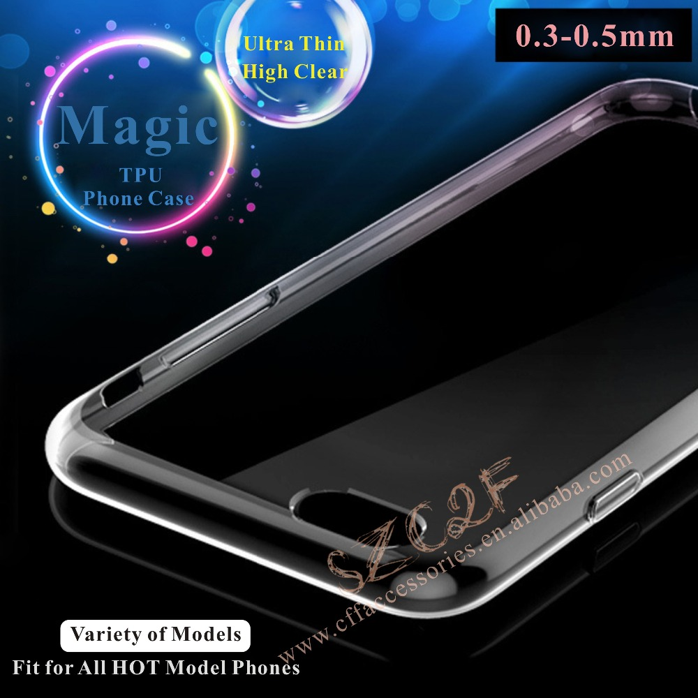 For Samsung Galaxy S5 A5100 A3100 ON5 Slim Mobile Phone Cases transparent tpu cover case Manufacturer