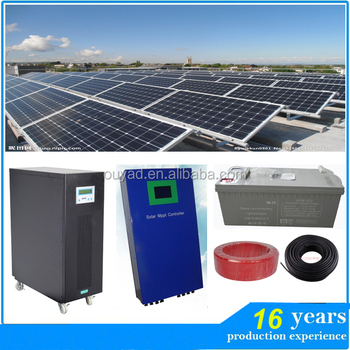 Solar tile roof mounting system , 10 kw solar power system for small homes , tile roof hook