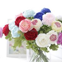 High Grade Silk Decorative Artificial Peony Flower for Home