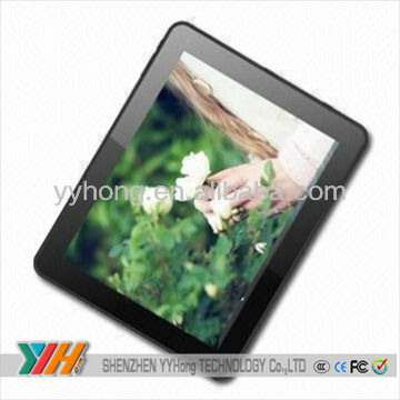 9inch tablet motherboard with Windows7/XP/android 2.2 OS