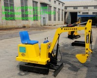 hot sale mini kids toy Excavator learning machine