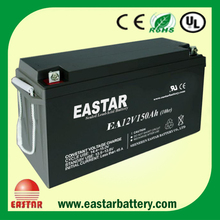 vrla battery 12v 150ah Maintain Free Lead Acid Ups Battery for Solar Inverter