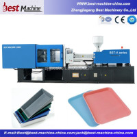 High Quality Plastic Tray Making Machine /Injection Moulding Machine Suppling Factory