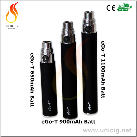 High quality ego t battery for e cigarette