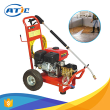 Road cleaning machine labor saving, quick coupled nozzle cleaning machine, high pressure concrete floor cleaning machine