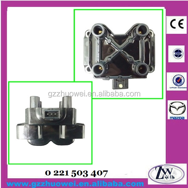 High Quality Ignition Coil for ALFA ROMEO / CITROEN / PEUGEOT PROTON WIRA # 0 221 503 407, 0221503407