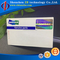 security self adhesive label hologram sticker