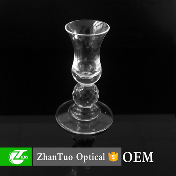 Home decorative clear acrylic candle holder, candlestick, candle stand