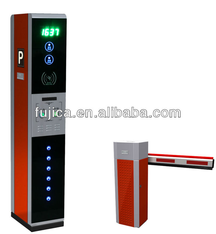 barcode ticket and RFID card parking system for hotel FJC-T18B